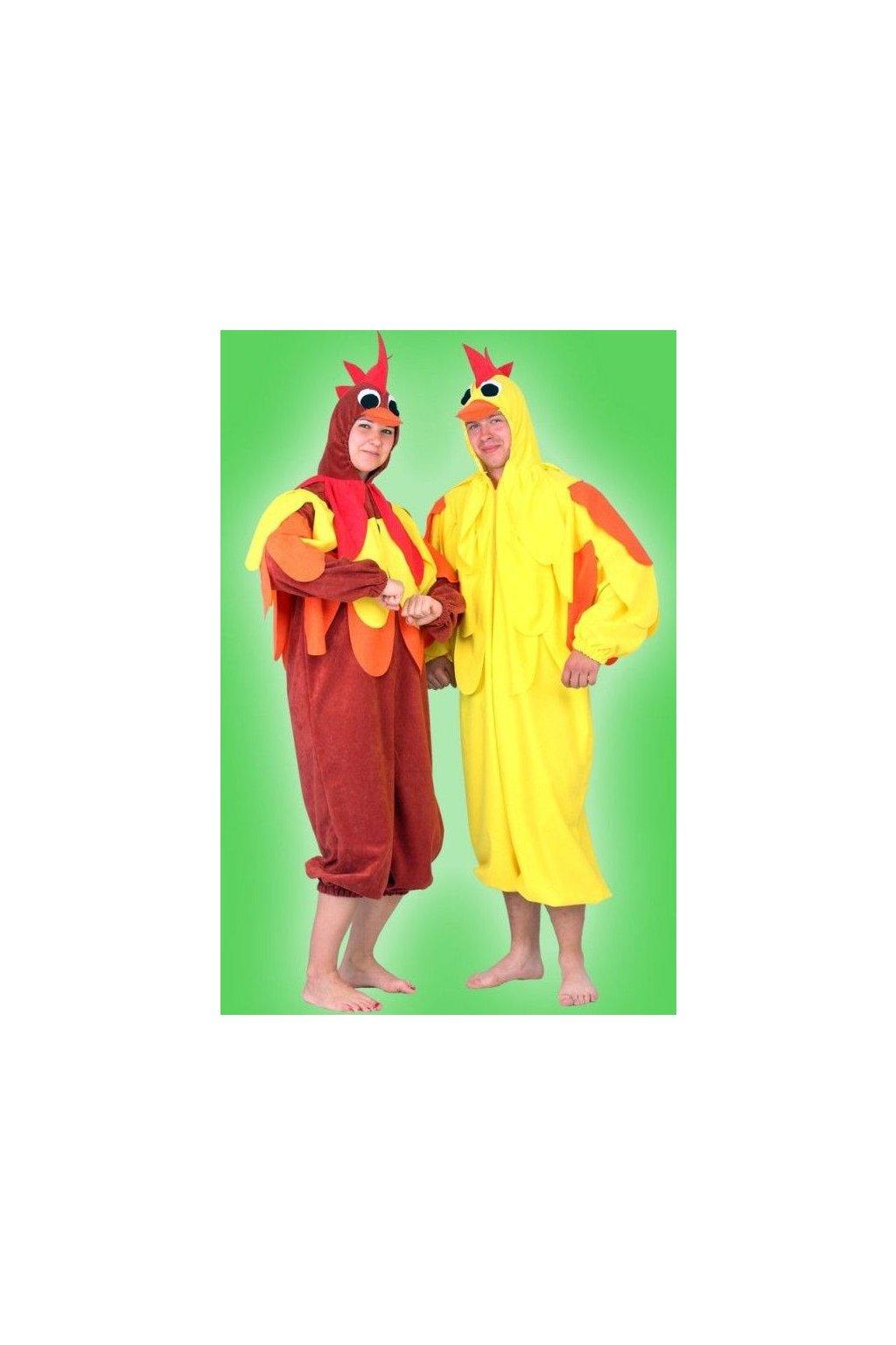 Masopustní kostým kuře