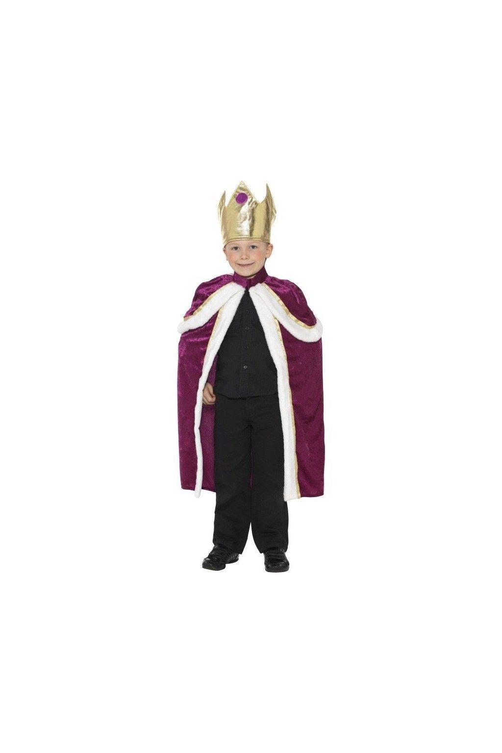 Dětský kostým - král