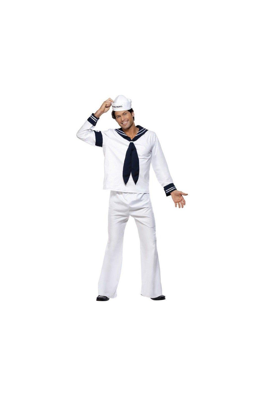 Kostým - Village People - námořník