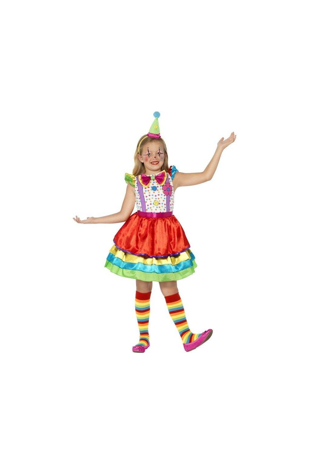 Dětský kostým klaunice