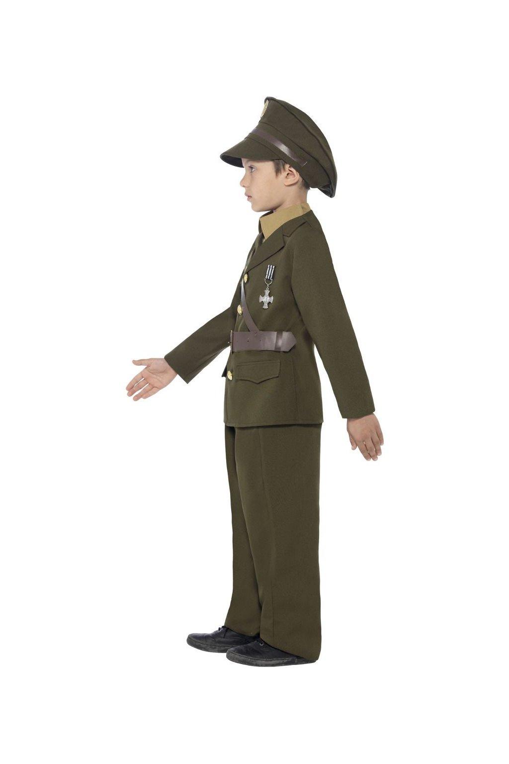 Dětský kostým Vojenská uniforma