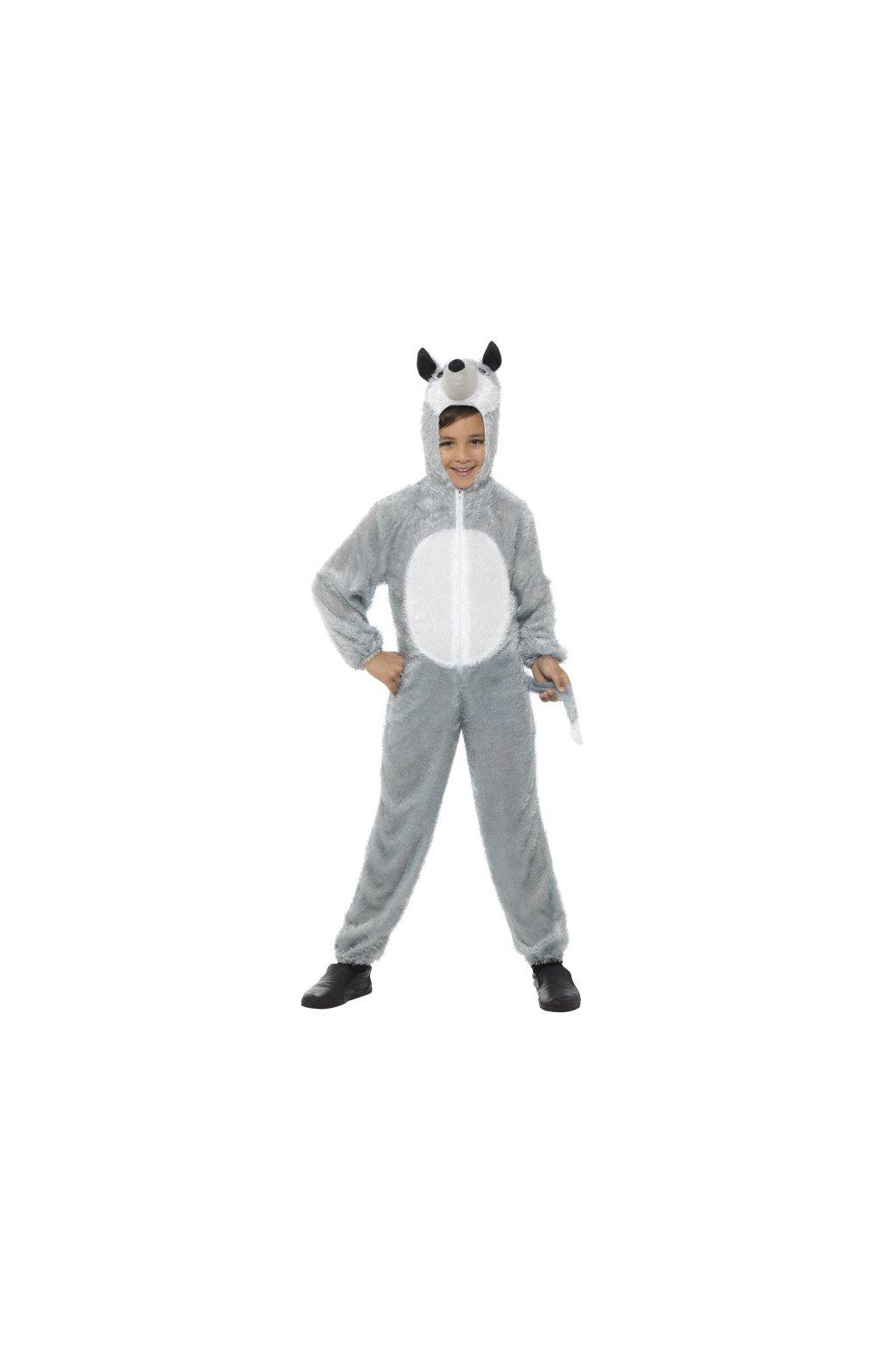 Dětský kostým - Vlk - 7-9 let