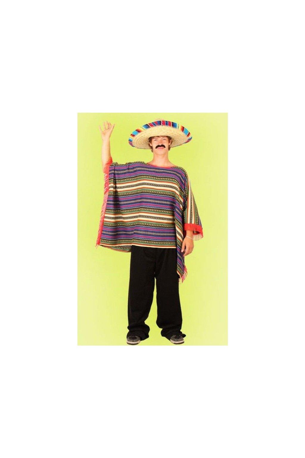 Pončo Mexičan - kvalitní