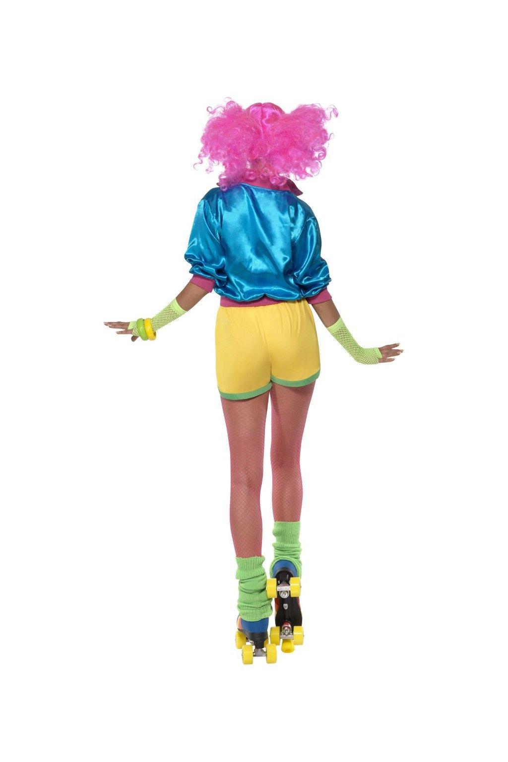 Dámská retro kostým - Bruslařka - 80'