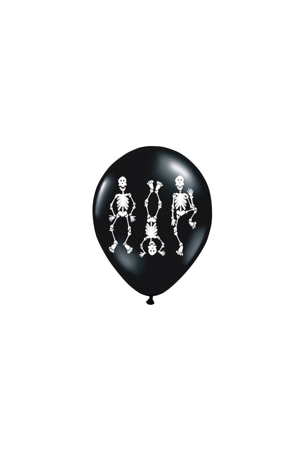 Nafukovací balónek kostlivci - 30cm