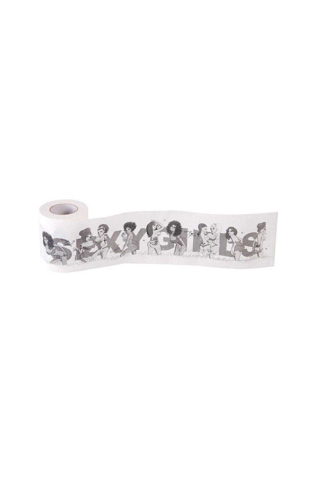 Toaletní papír - sexy holky