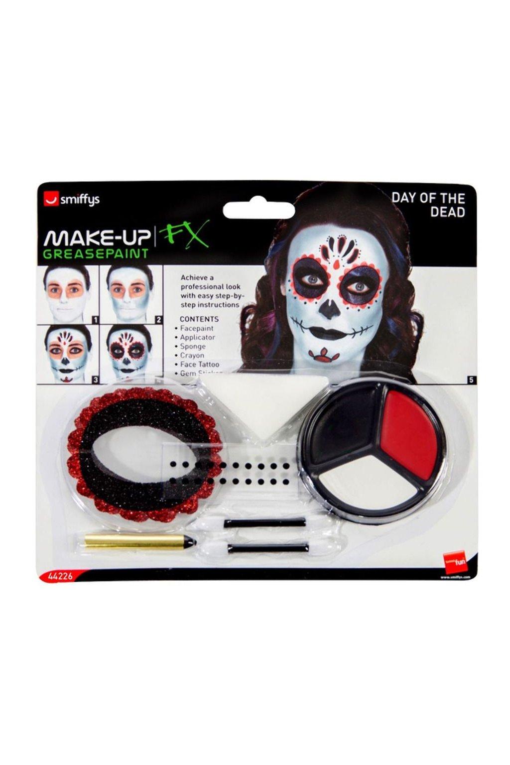 Make up - Sada - Den mrtvých Muerte Day of the Dead