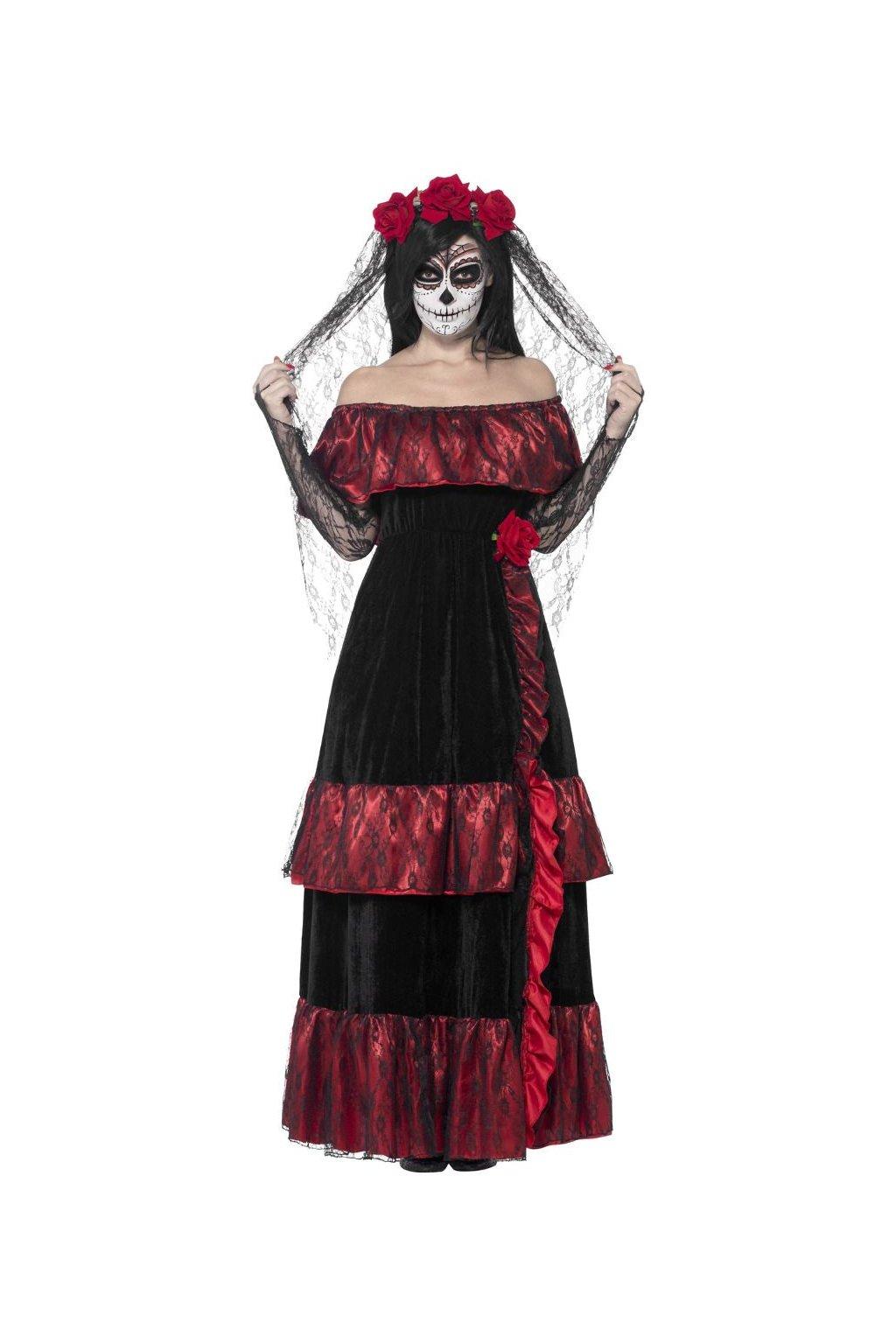Dámský kostým Nevěsta Muerte - Day of the Dead
