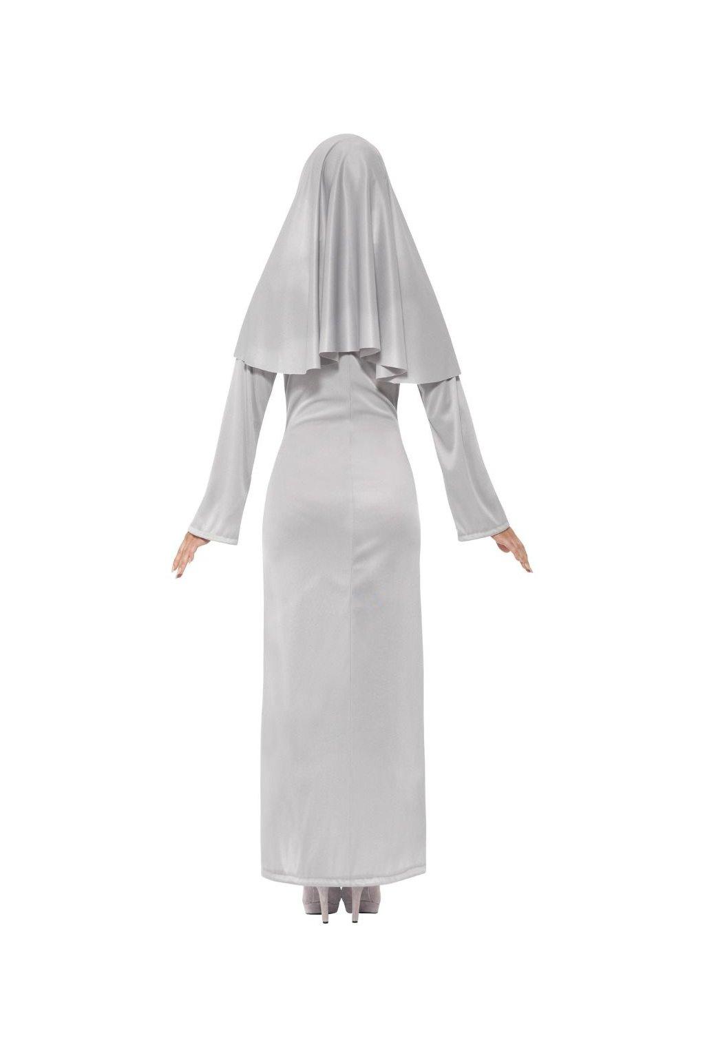 Dámský kostým - jeptiška šedá