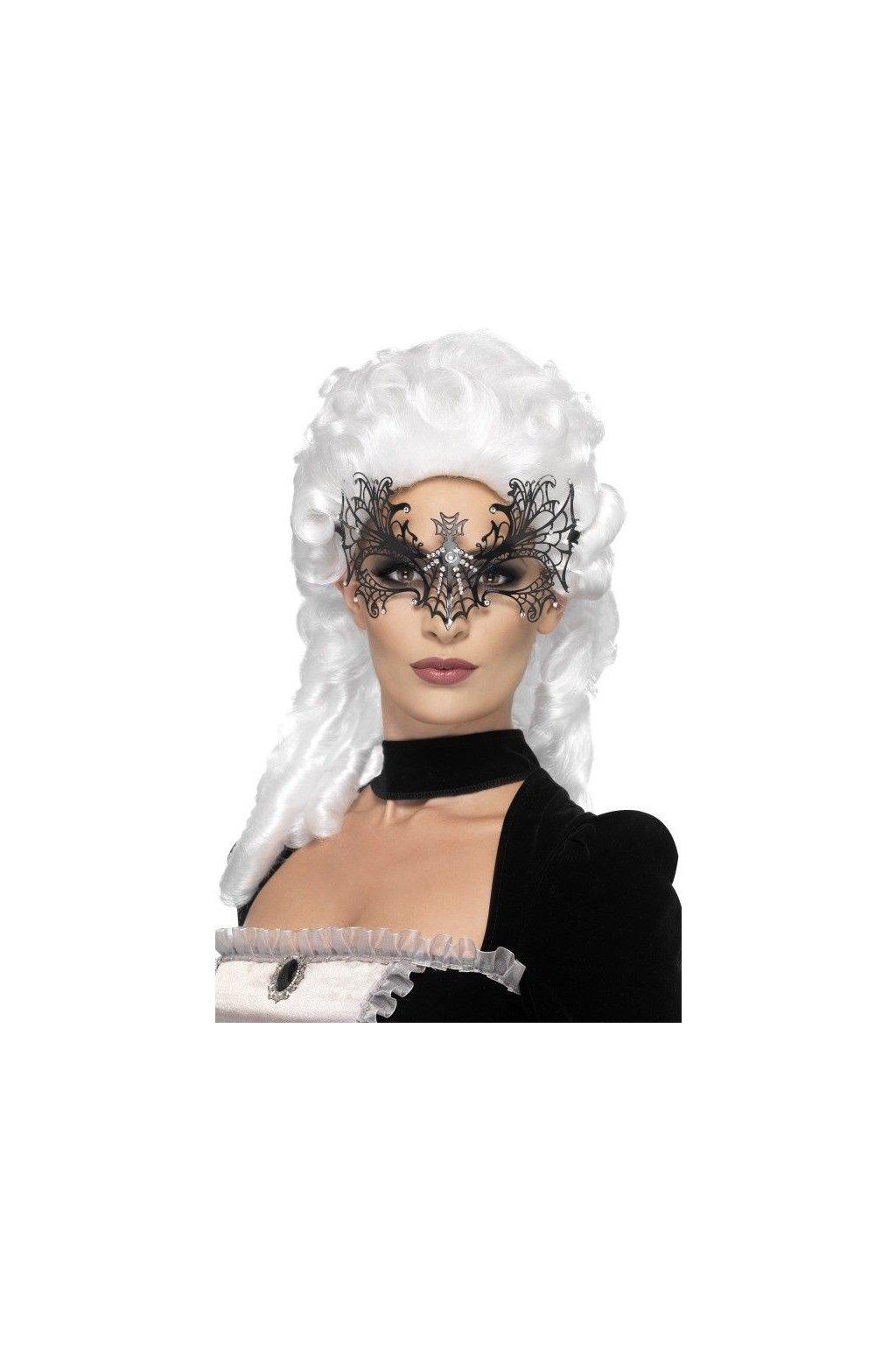Škraboška Černá vdova