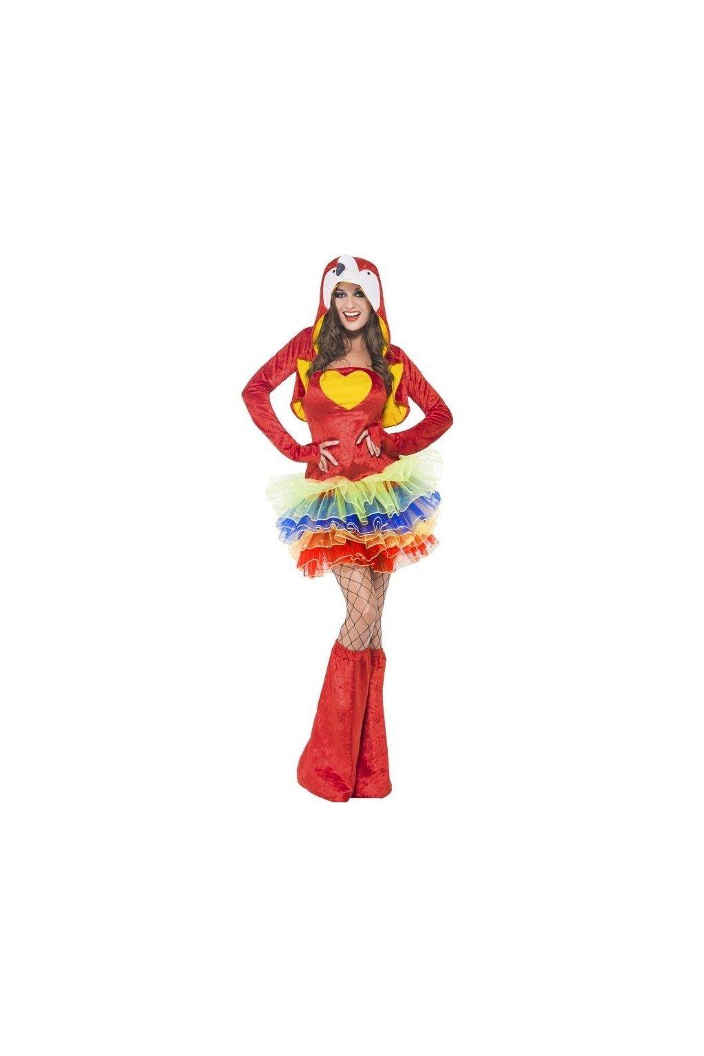 Papoušek - dámský sexy kostým
