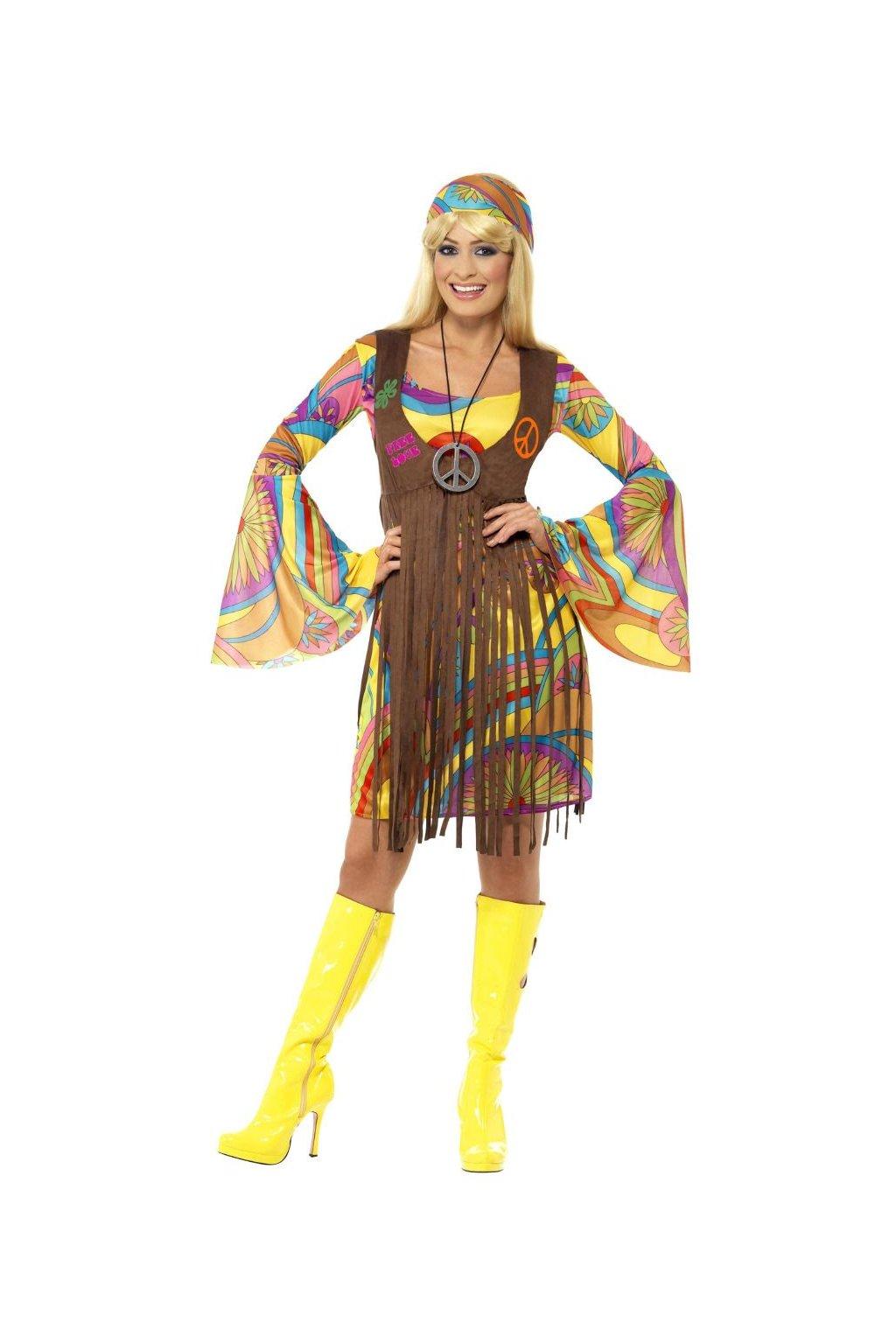 Kostým Hippie s vestičkou