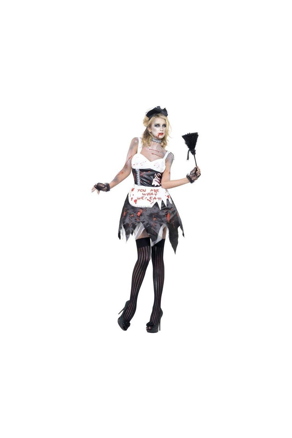 Kostým - Zombie pokojská