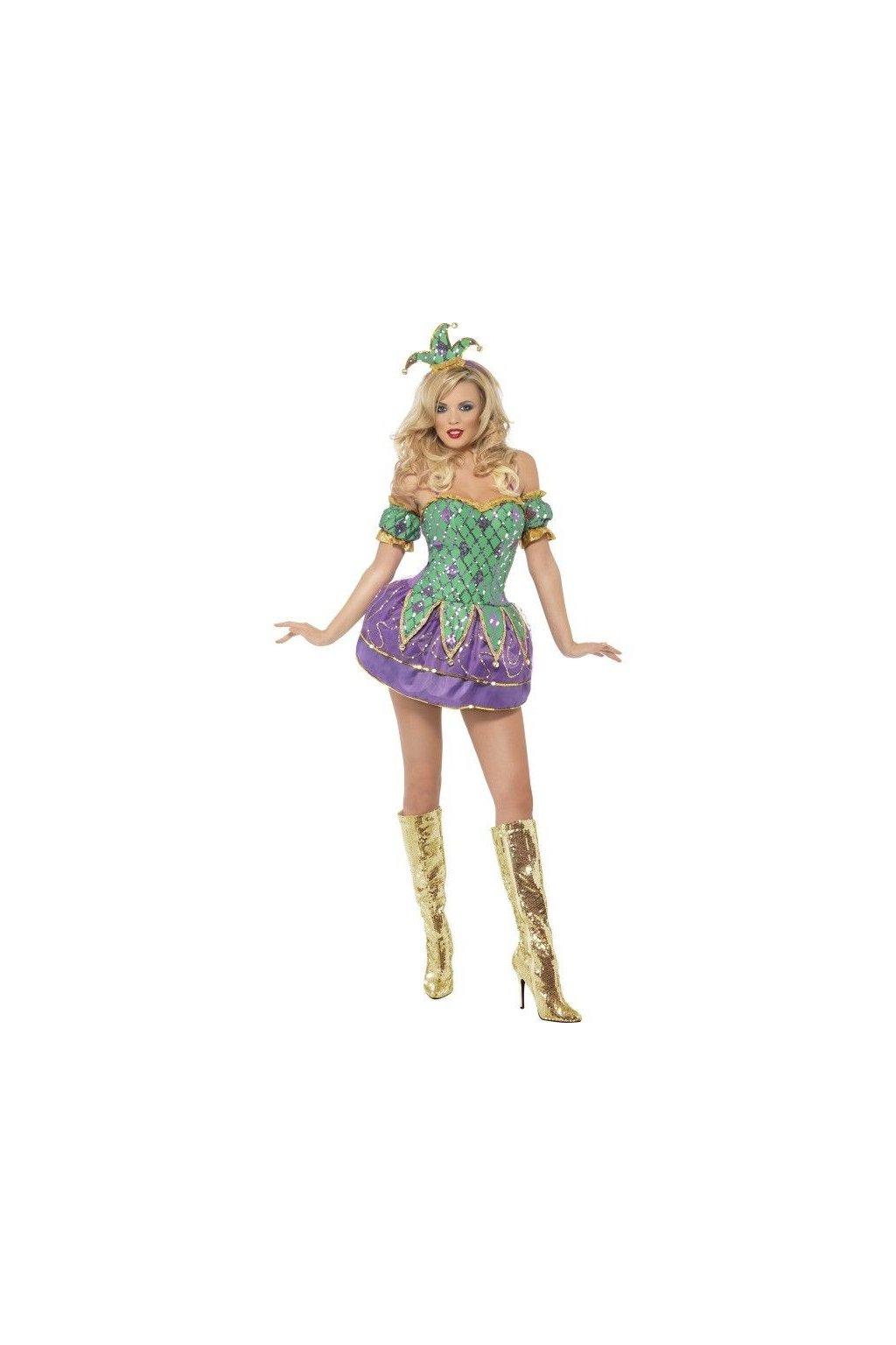 Kostým - Sexy klaun deluxe