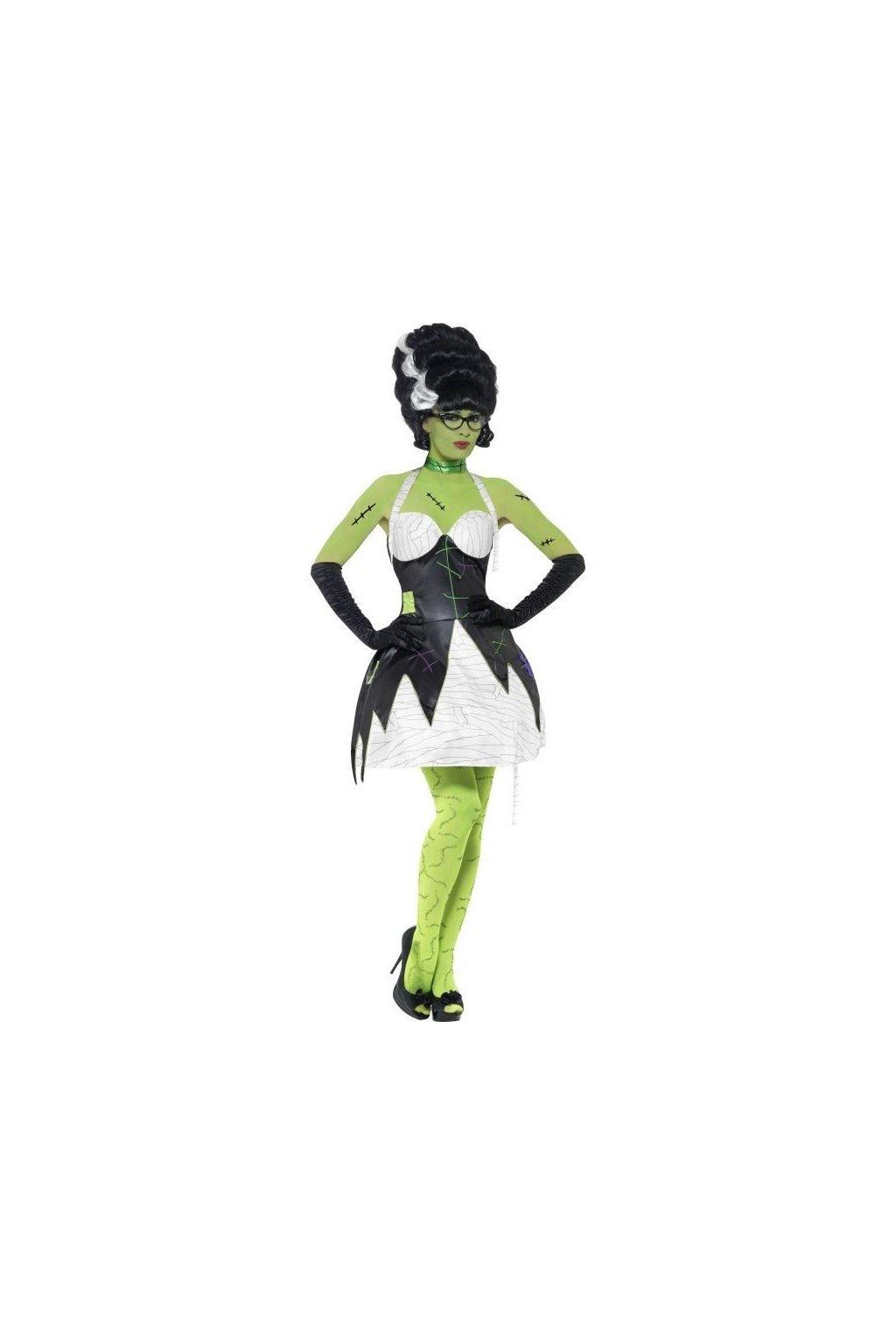 Kostým - Monster bride Frankenstein