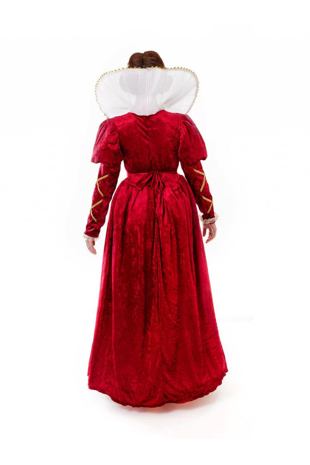 Kostým královny Elizabeth