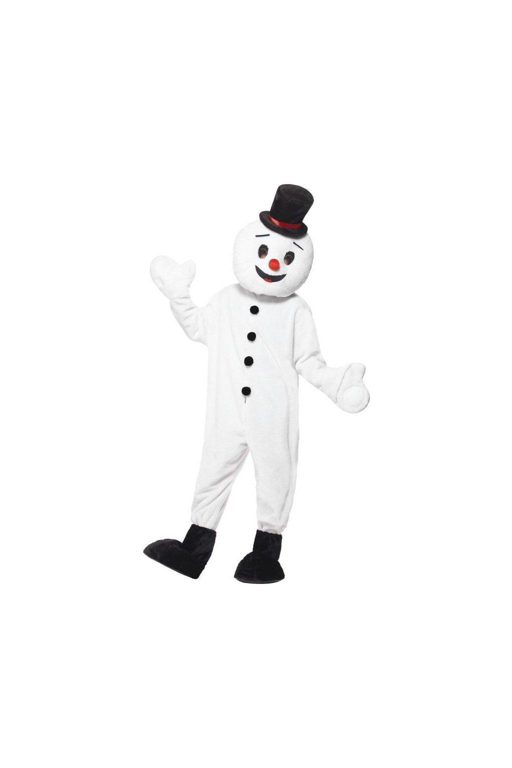 Maskot sněhulák