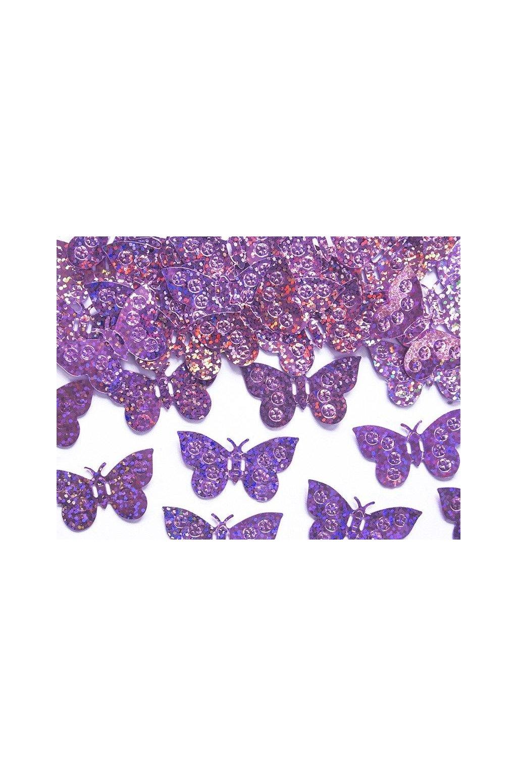 Párty konfety - motýli