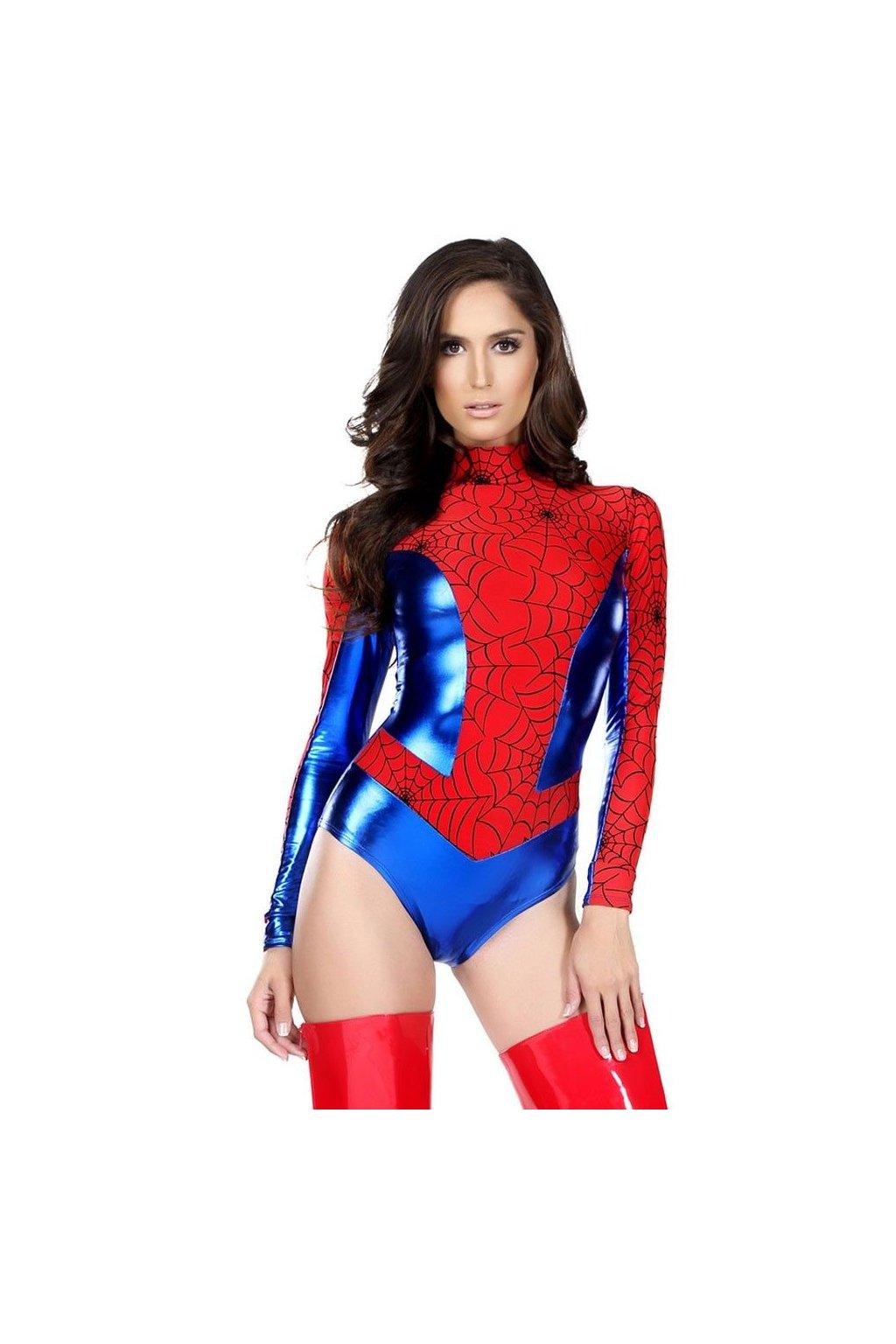 Kostým Spider girl - body