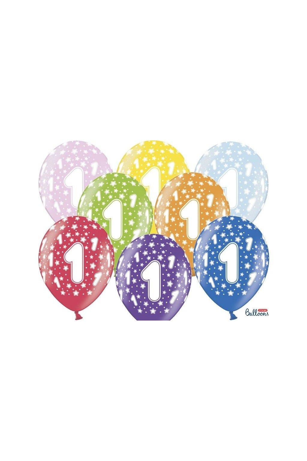 Balónek číslo 1
