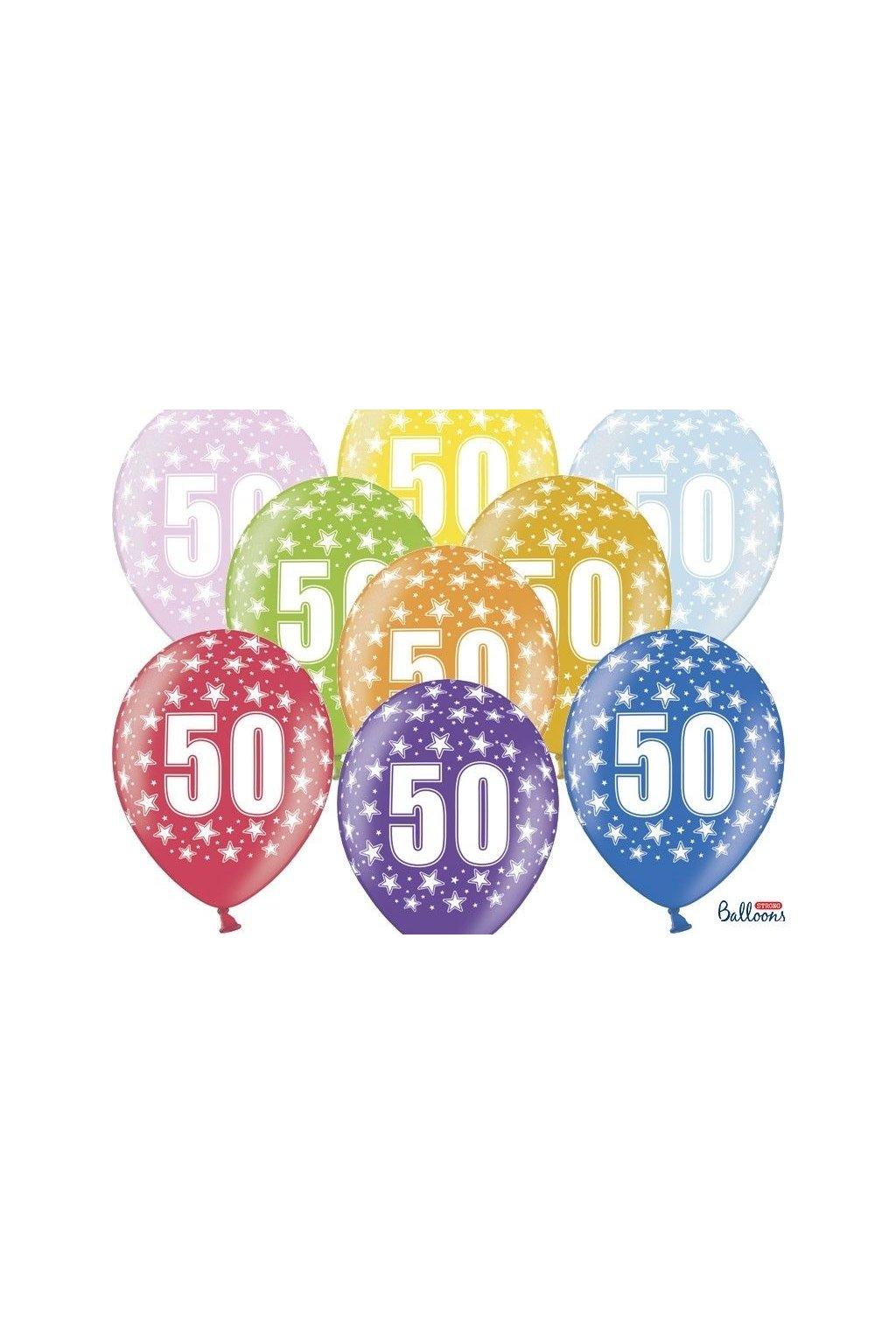 Balónek číslo 50