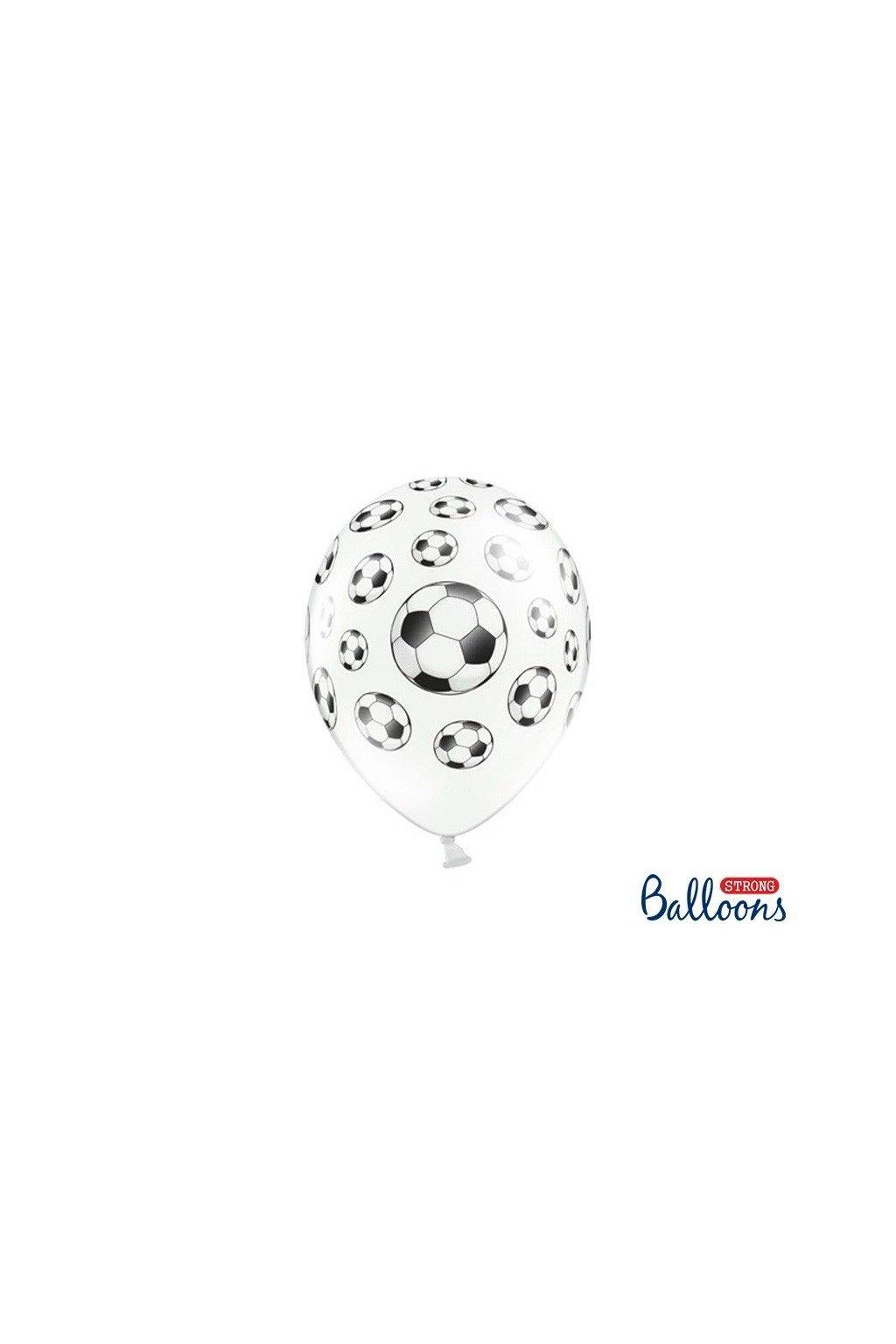 Nafukovací balónek - fotbalový míč - 30cm