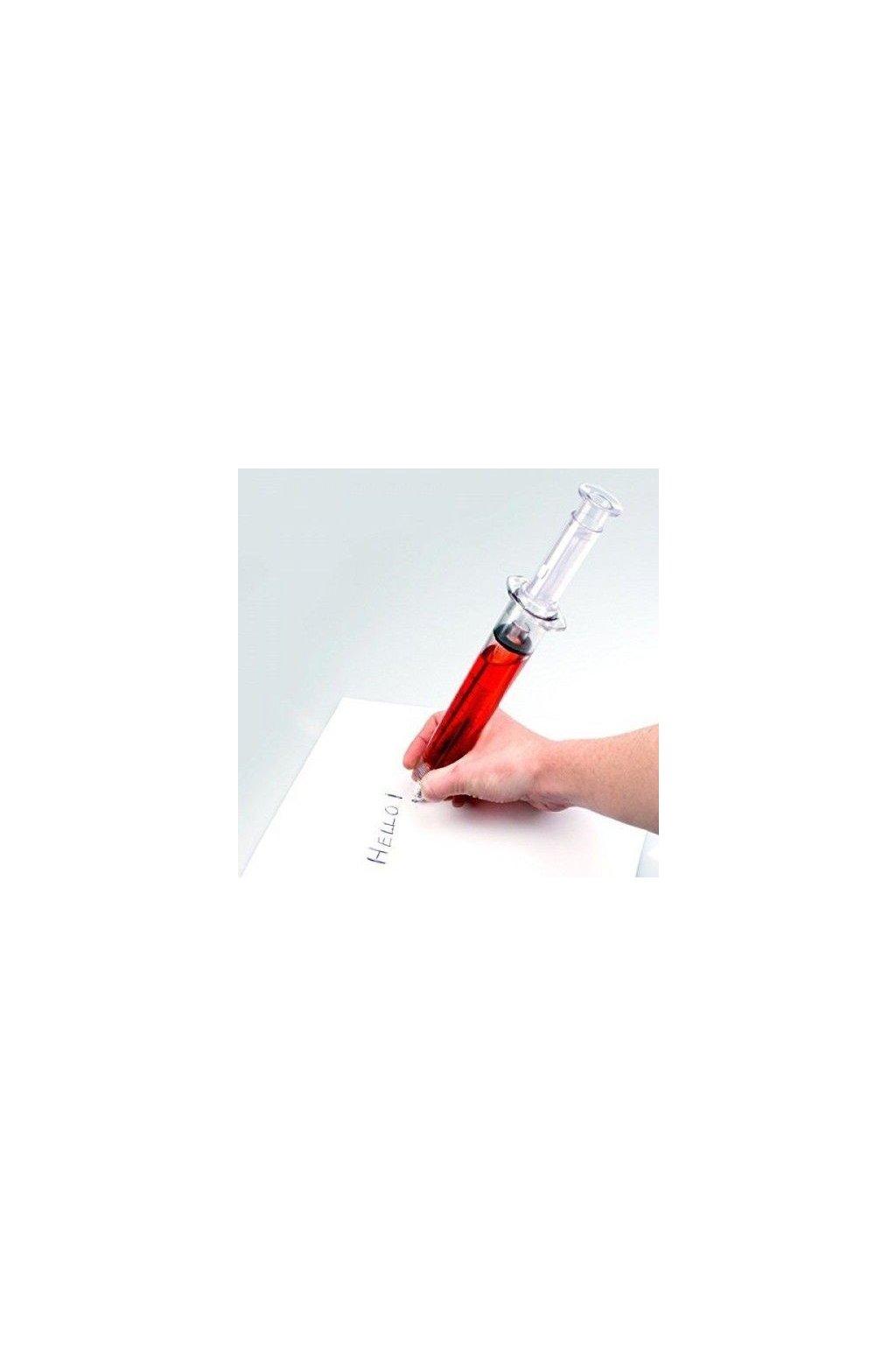 Propiska velká injekční stříkačka