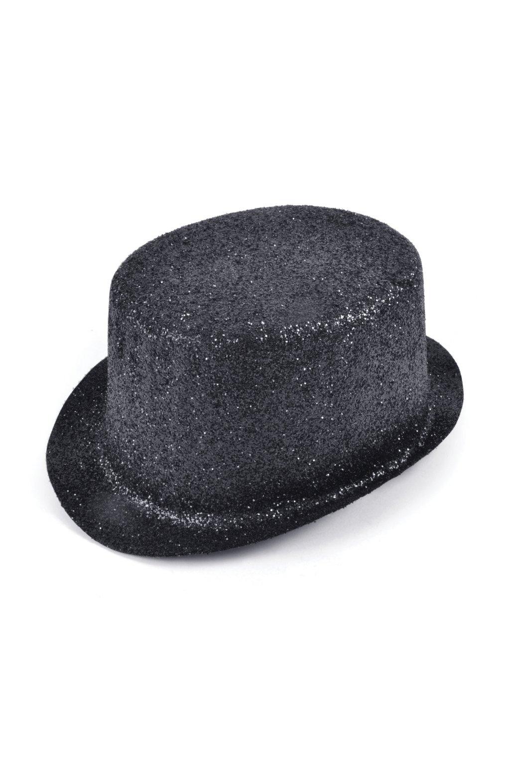 Párty klobouk - cylindr černý