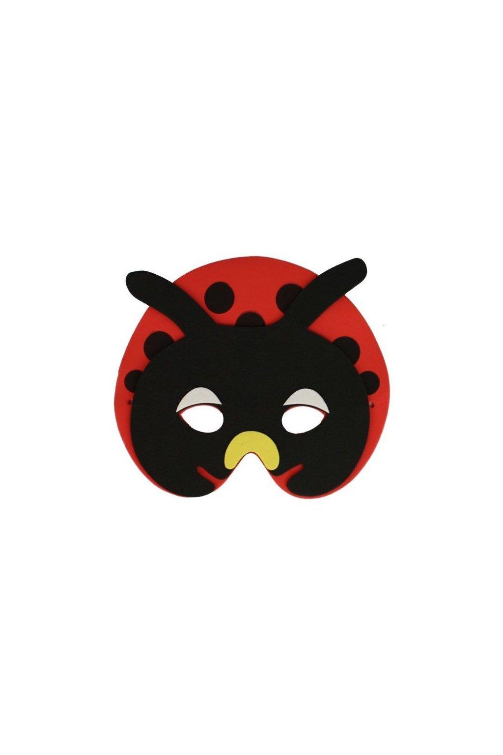 Dětská maska beruška