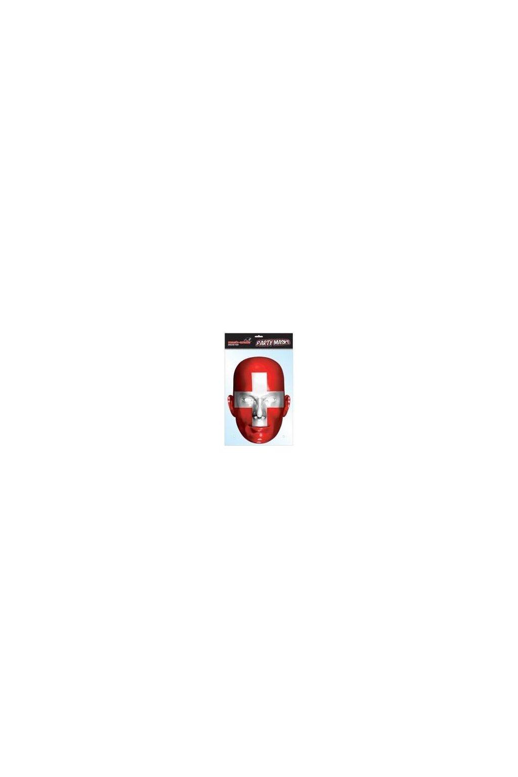 Maska Švýcarská vlajka