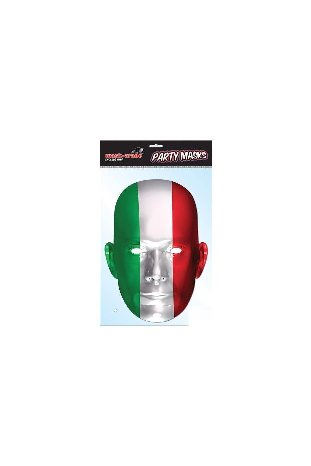 Maska Italské vlajky