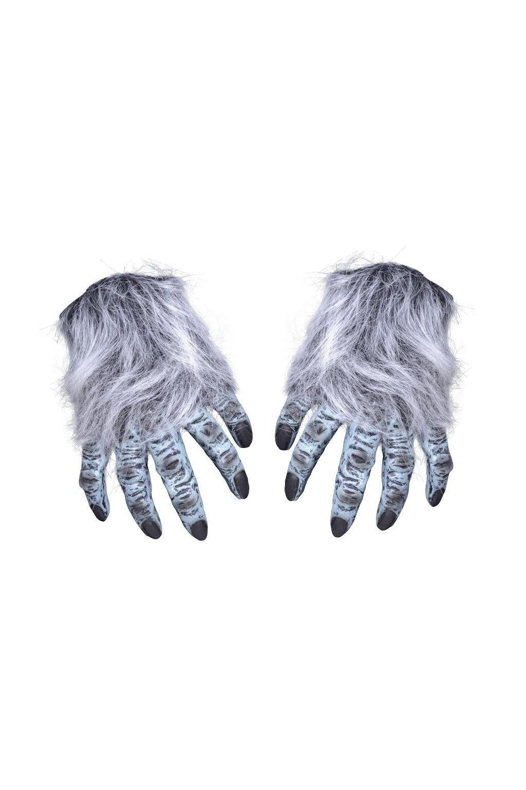 chlupaté ruce - Bílý chodec White