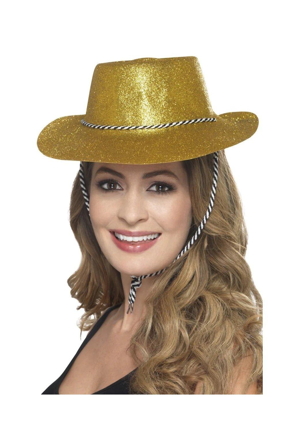 Párty klobouk - zlatý