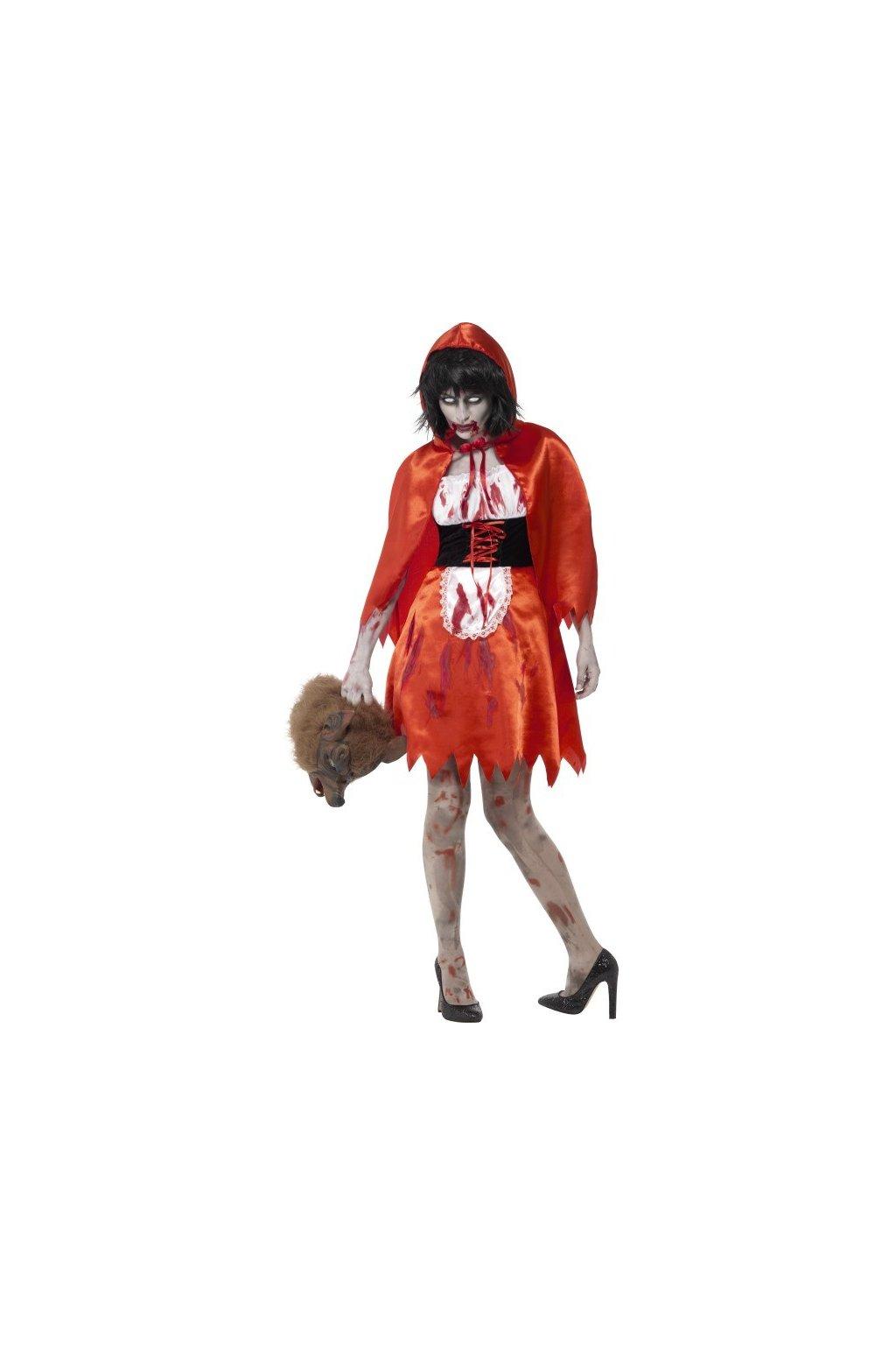 Kostým Halloweenská Karkulka
