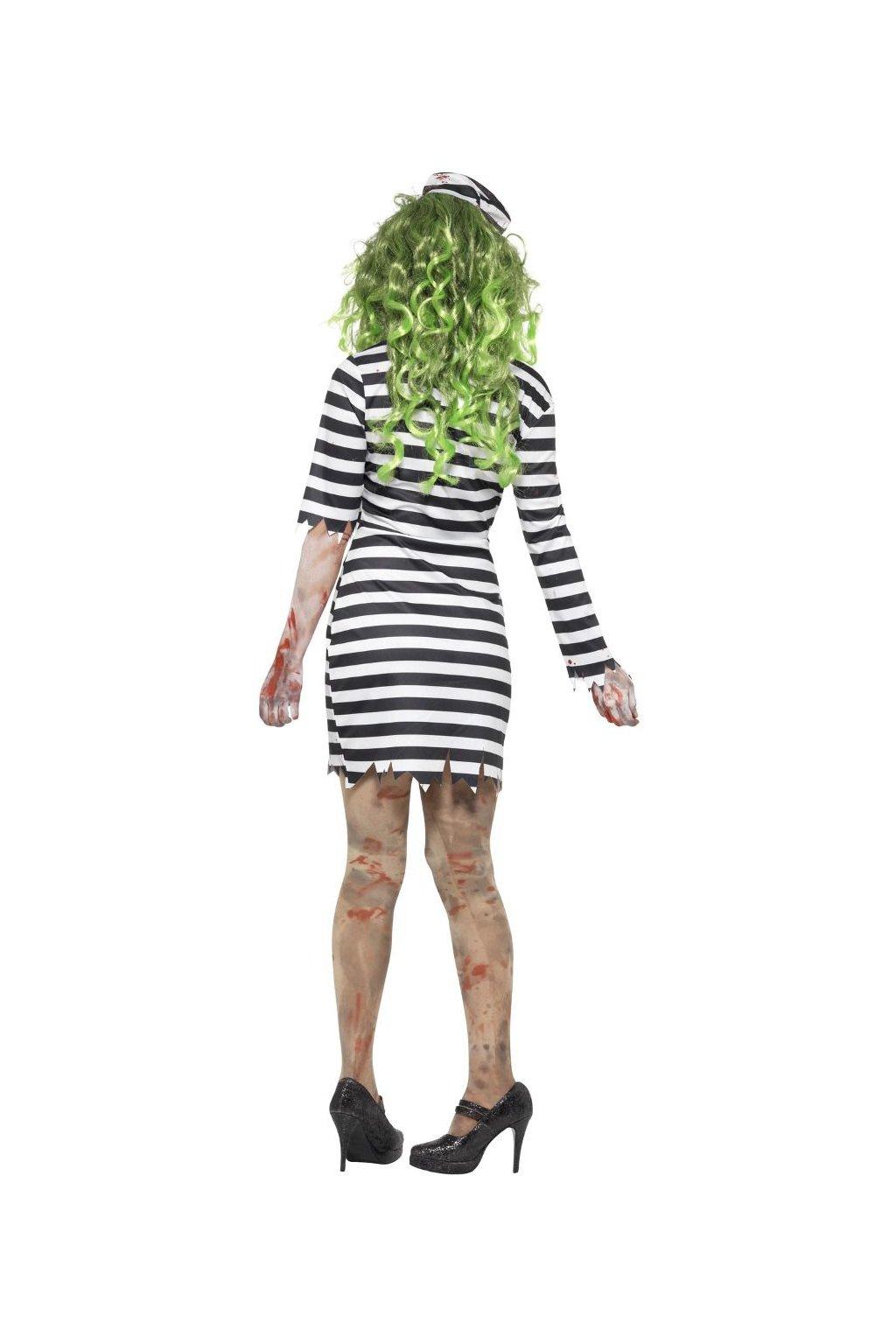 Kostým Zombie vězenkyně
