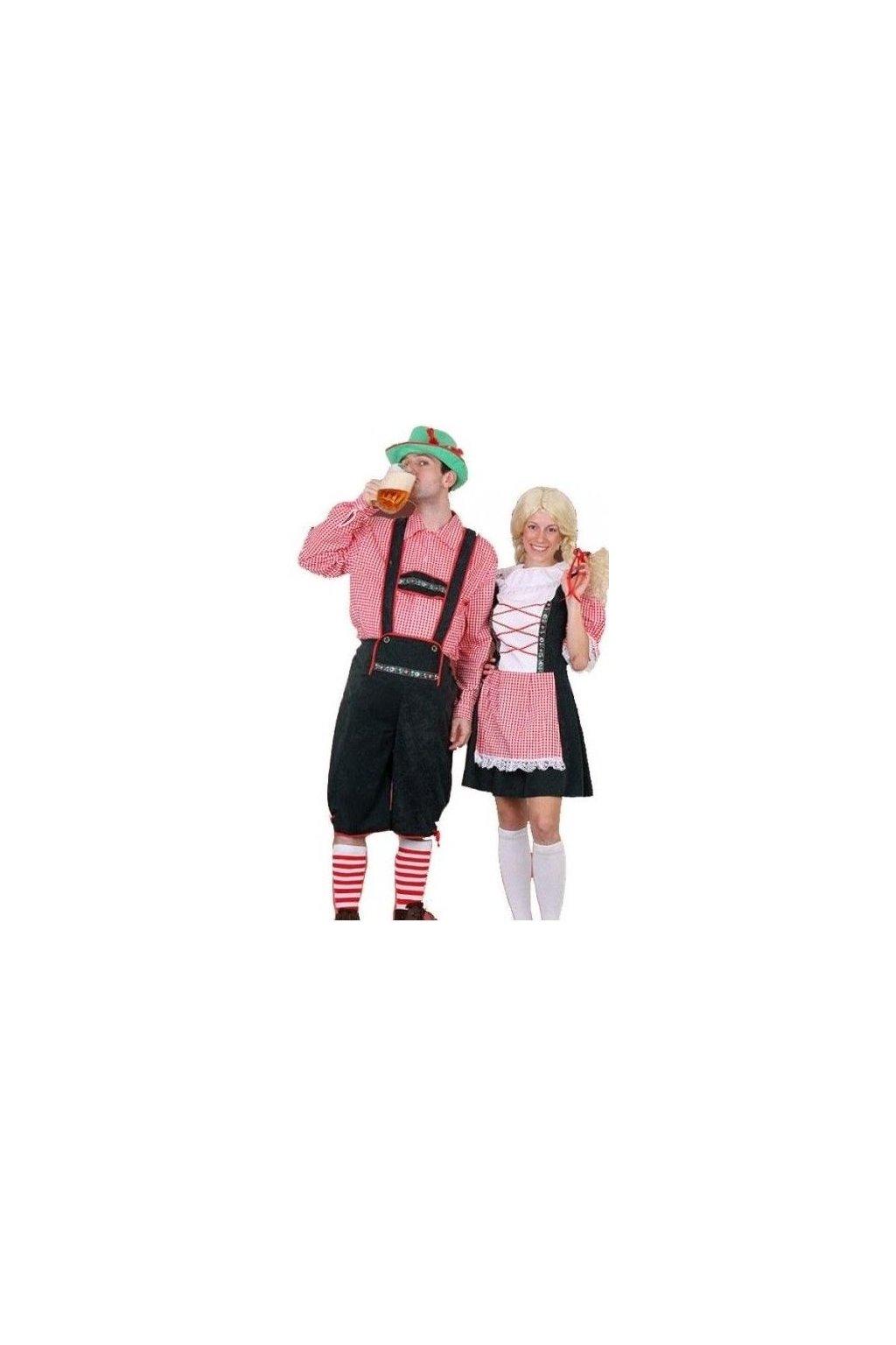 Kostým Bavoráka - kostýmy Oktoberfest