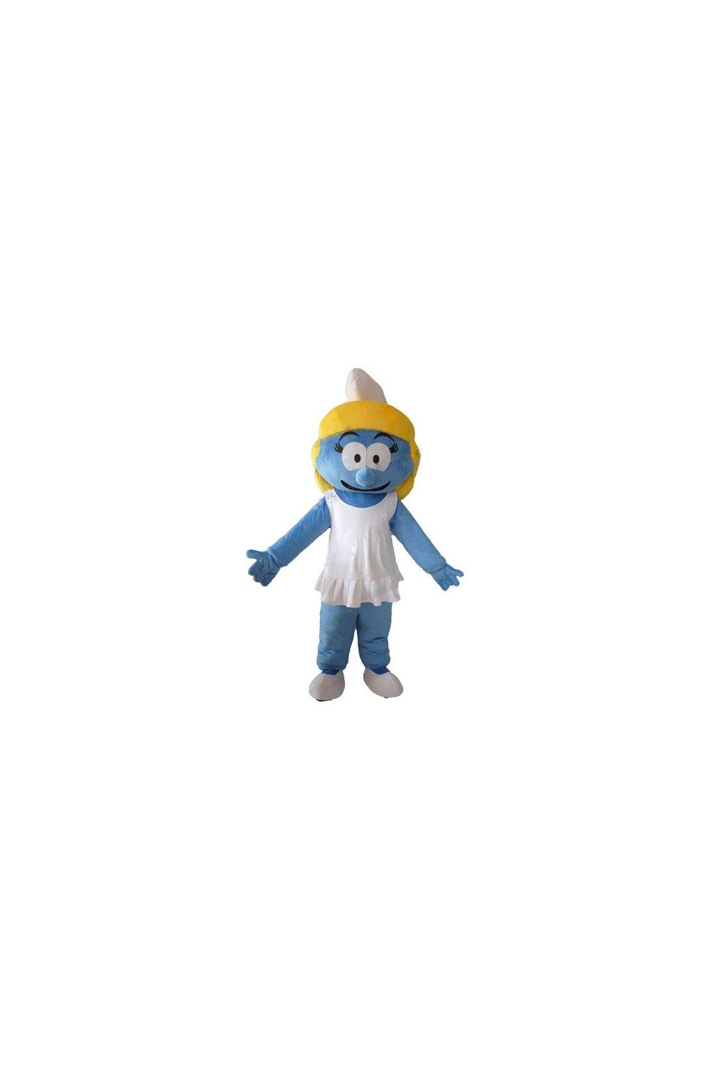 Kostým Šmoulinka - maskot