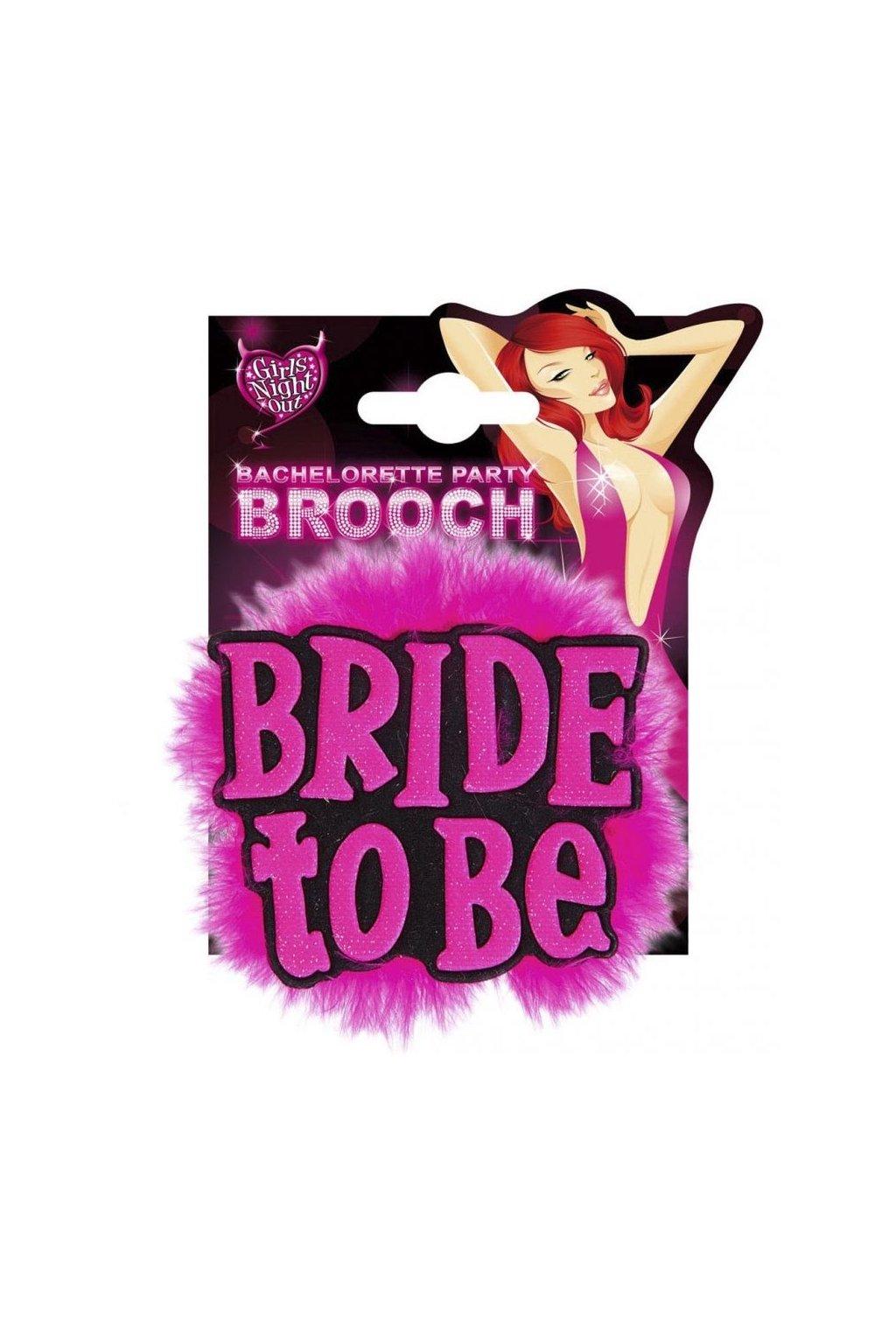 Brož pro nevěstu - rozlučka se svobodou
