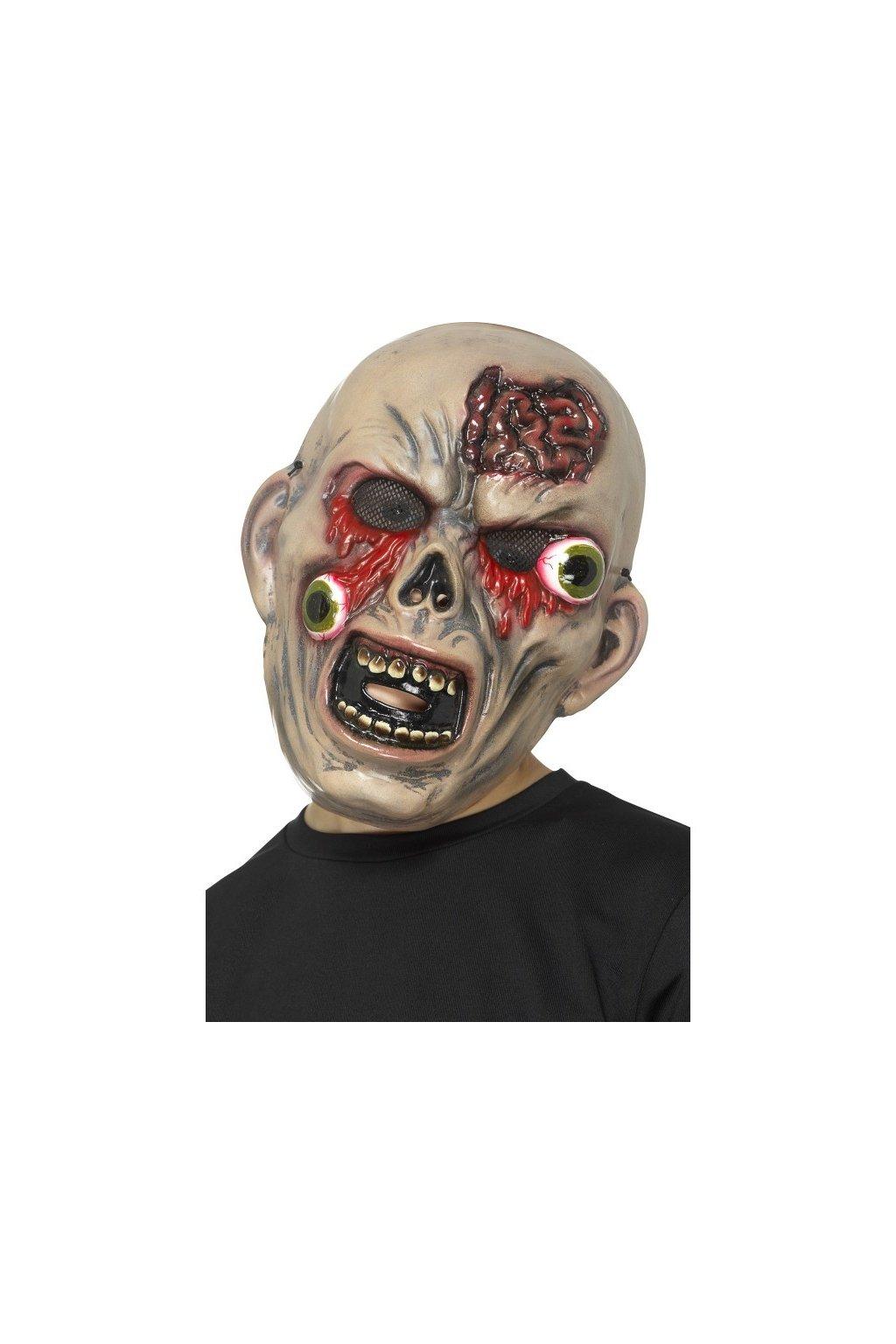 Levná maska zombie