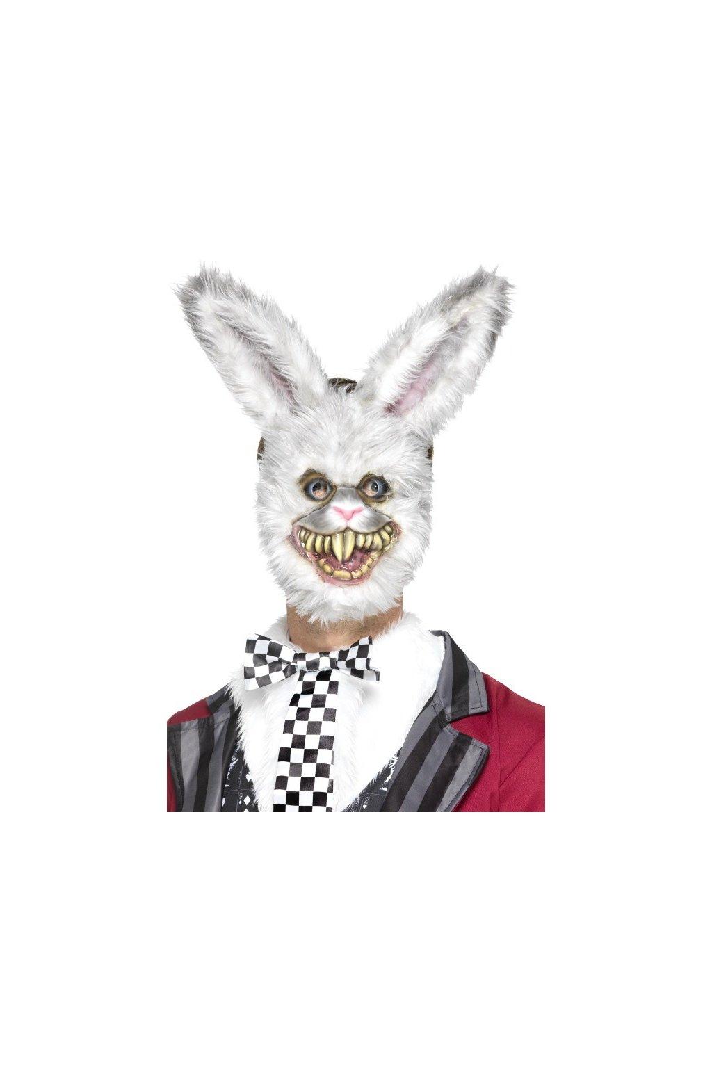 Maska strašidelný králík