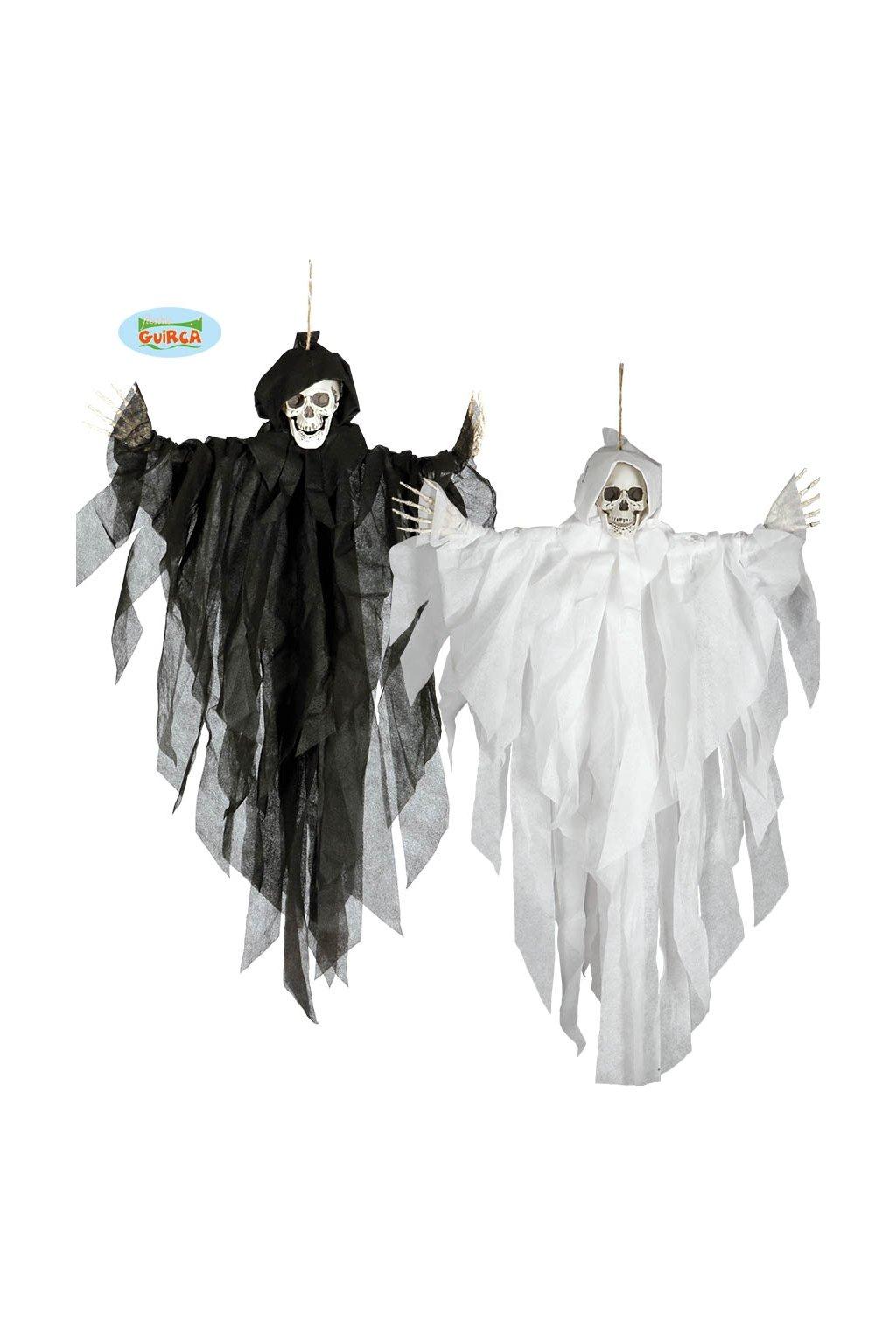 Smrtka - závěsná dekorace na Halloween