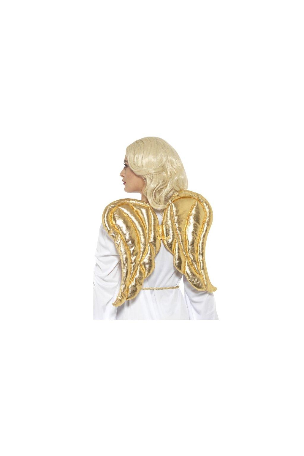 Andělská křídla zlatá - deluxe