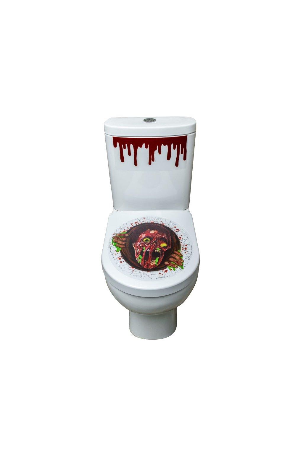 Zombie samolepka na WC