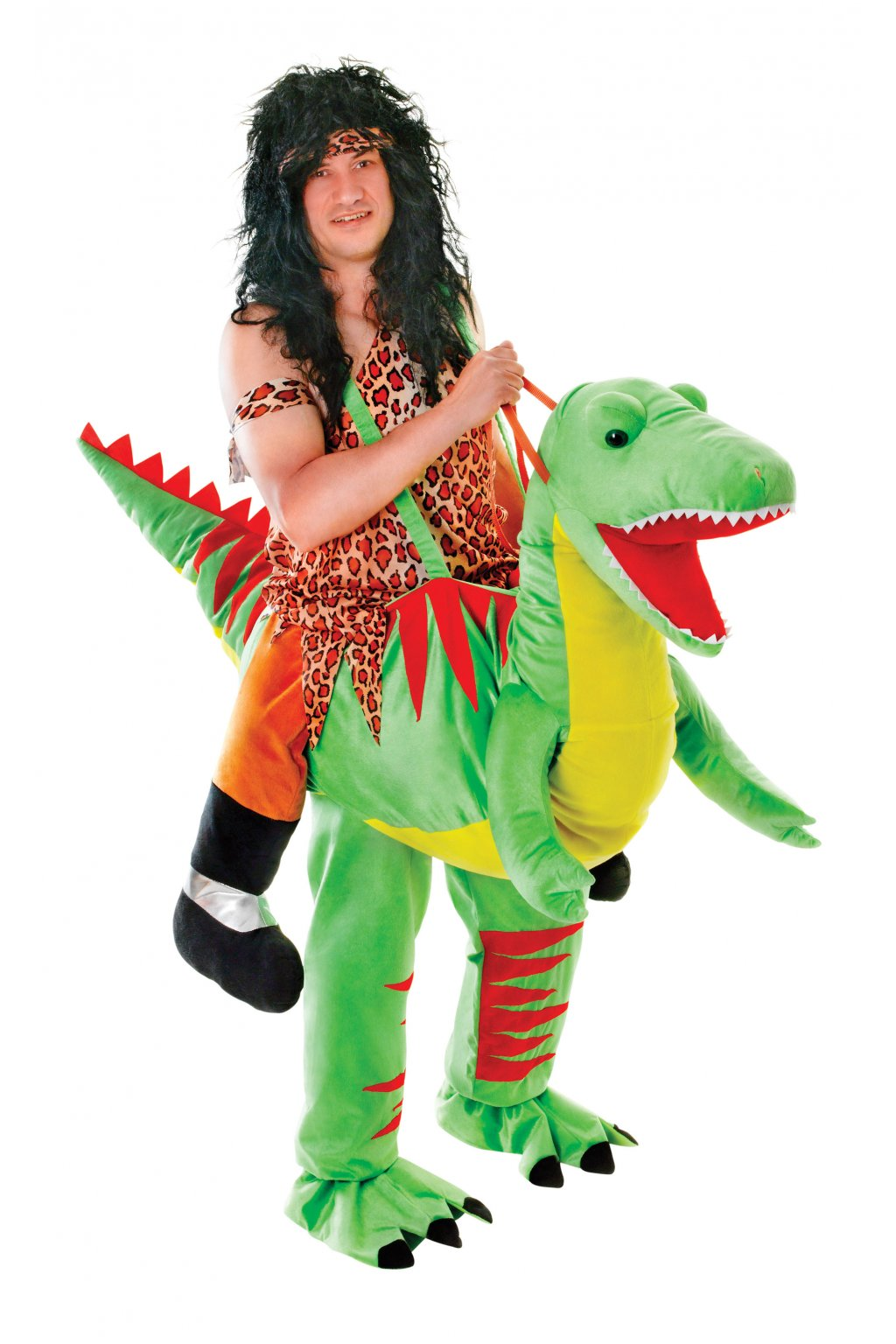 Kostým jezdec na dinosaurovi