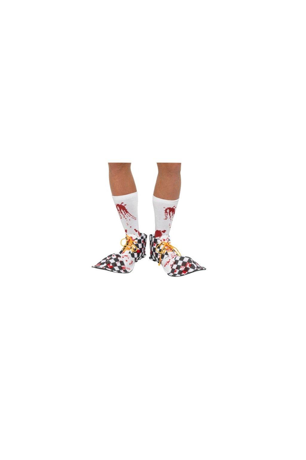 Klaunské boty krvavé