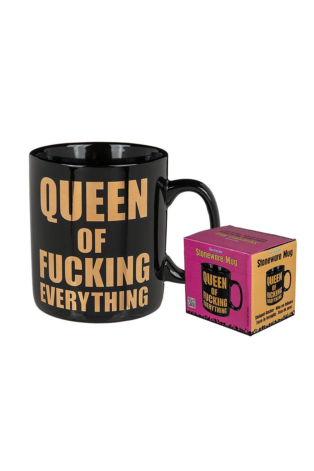Hrnek - Queen of fucking everything - 800ml