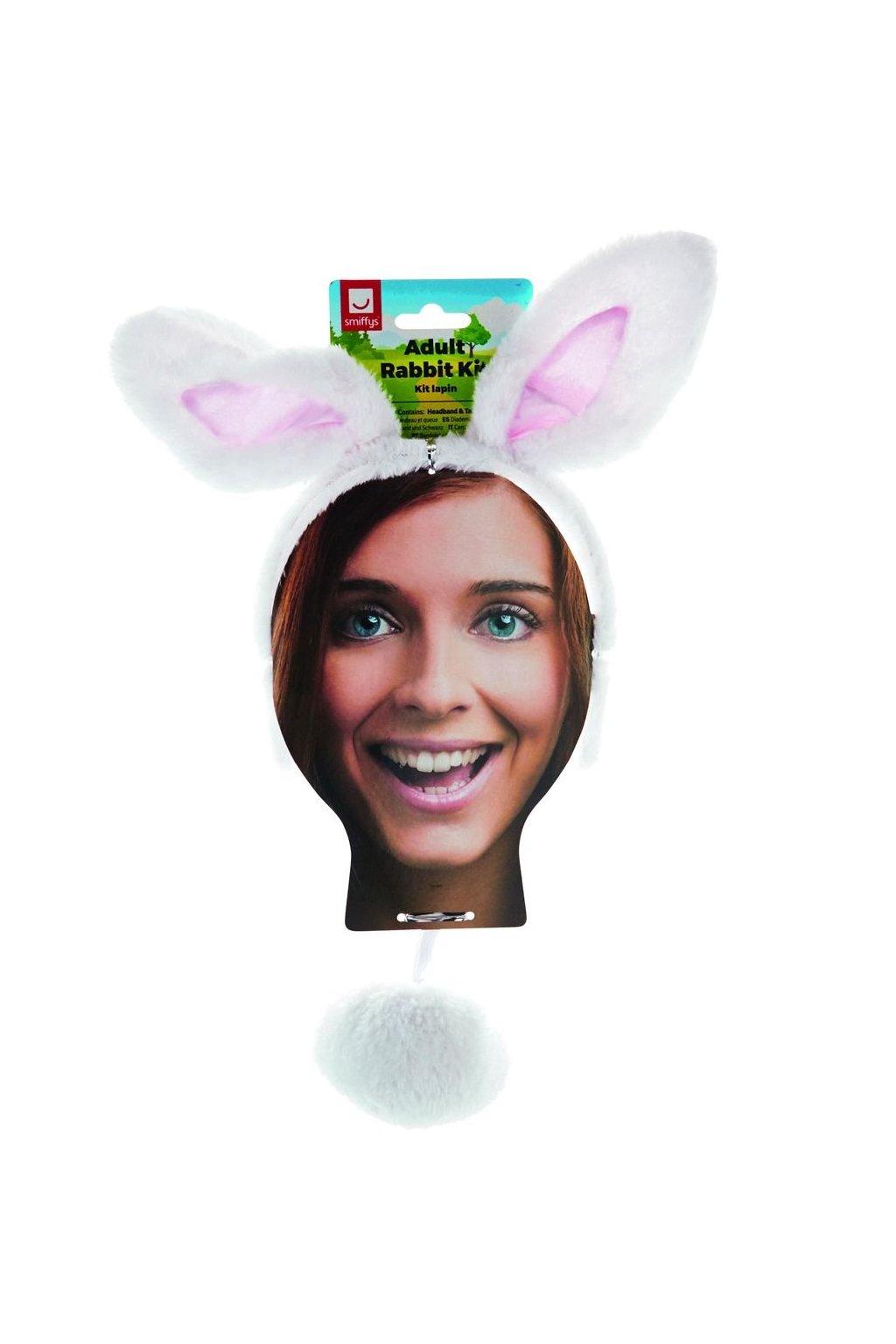Sada pro zajíčka - bílá