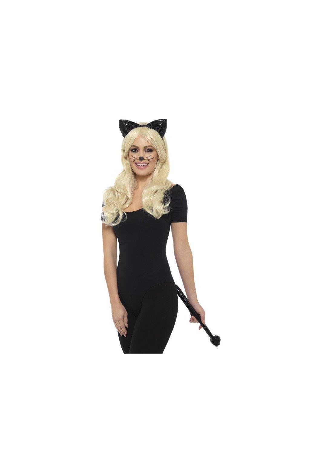 Sada sexy kočka - wetlook