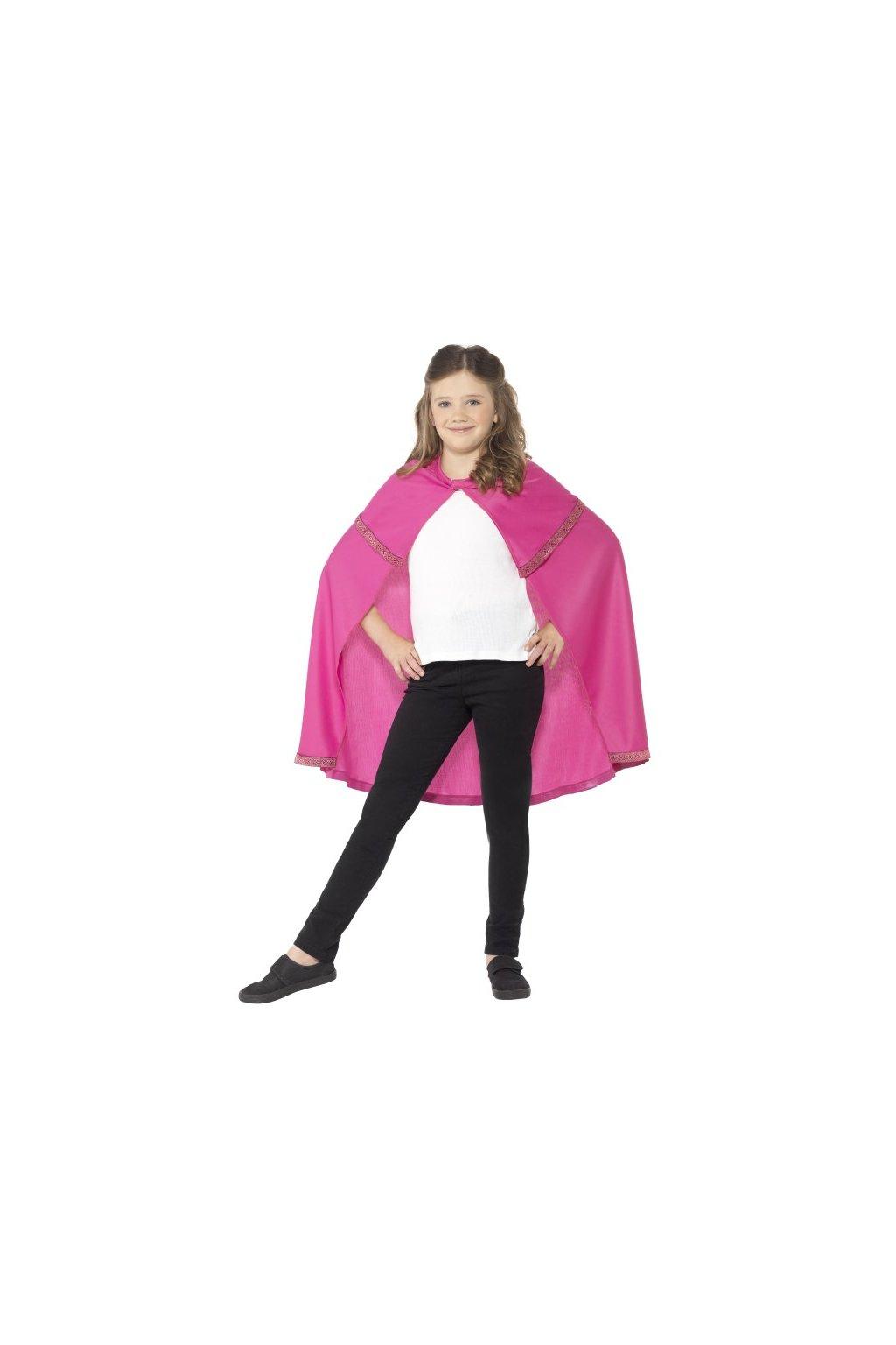 Růžový plášť pro princeznu