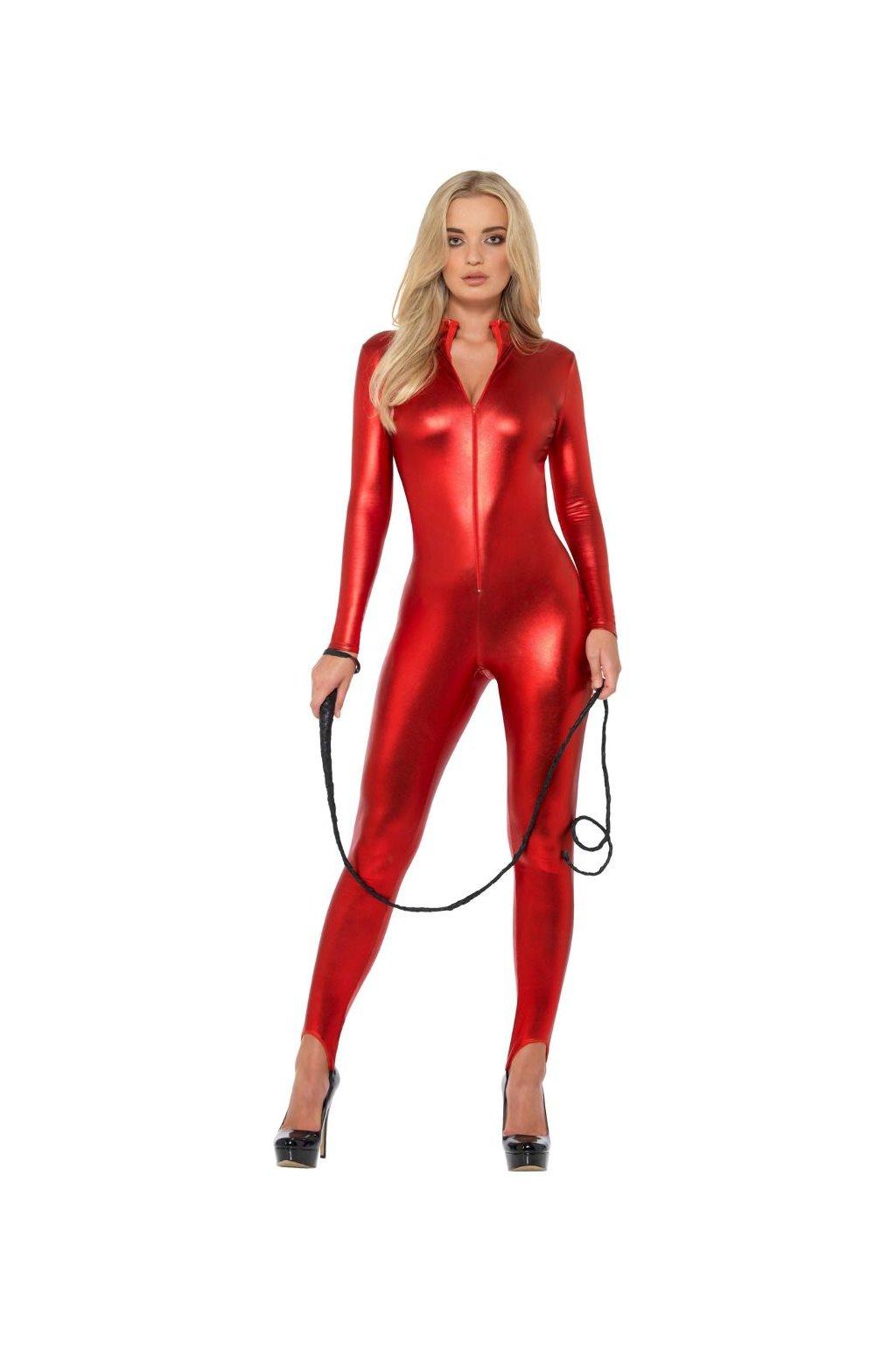 Sexy overal - červený